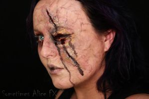 Infected Eye Make-Up by SometimesAliceFX