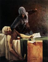 Assassination of Marat by ericdbz