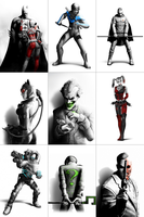 Arkham City i4 Wallpaper Pack by Dante1417
