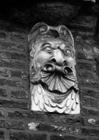 face in the wall by awjay