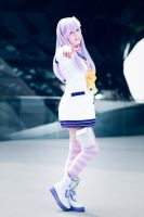 Hyperdimension Neptunia mk2 - Nepgear Cosplay by K-I-M-I