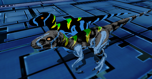 MMD Newcomer Chaos Effect Alpha Raptor + DL by Valforwing