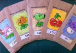 Plants vs Zombies Seed Packets by evil-santa