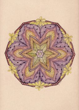 Mandala in Color by scootergirl762