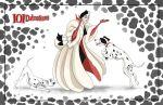 Friendly Villains #1  - 101 dalmatians by Precia-T