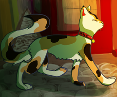 Lucky Cat by Silvaina