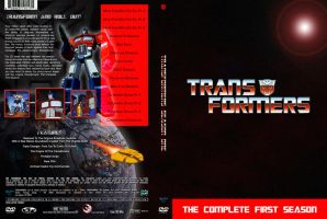 TRANSFORMERS SEASON ONE CUSTOM DVD COVER by SUPERMAN3D