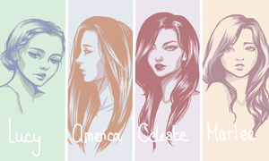 The Selection Series: Girls by CharlyHantschel