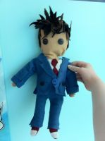 10th Doctor Plush by caseycreates