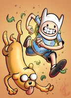 Adventure Time by pmason83