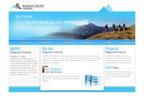 Ridgecrest Web by chanaka