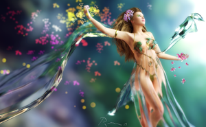 Goddess of Spring by Pleblu