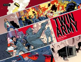 Twin Army pages 2-3 by iliaskrzs