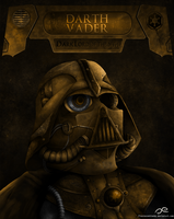 Steampunk Darth Vader II by Fluorescentteddy