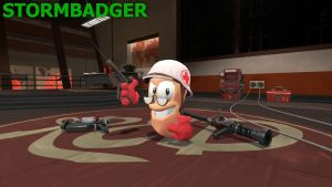 Worms: Stormbadger by TBWinger92