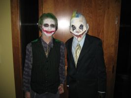 Joker and Grumpy by TimBurtonSon77