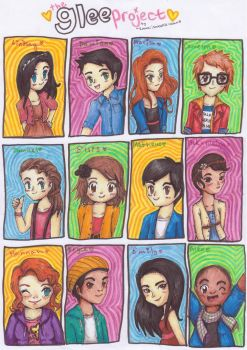 The Glee Project by kawaiisweetie-chan