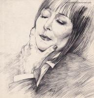 Anjelica Huston... by ChristinaMandy