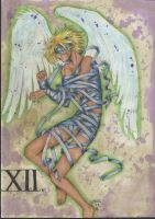 Tarot XII-The Hanged Man by Tablis