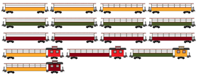 Updated Excursion Cars 2 by dinodanthetrainman