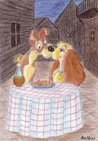 Lady and the Tramp by AgiVega