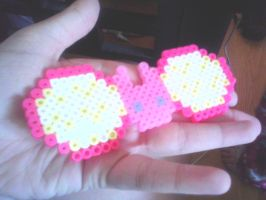 Beadsprite Hairbows: Sailor Moon by xXimmaeatjooXx