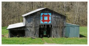 Another Quilt Trail Barn by TheMan268
