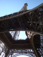 Under the Eiffel Tower by Bobby01