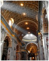 Light in St. Peter's by OldFashionedCowboy