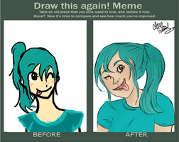 Draw This Again! Meme by OsoDeClare