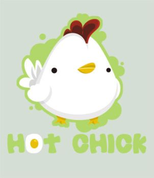 Hot Chick by SquidPig