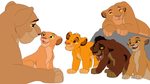 TLK Base 5 - Cubs and Lionesses by wikatoria71
