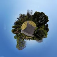 Little Planet: Imperial Palace East Gardens, Tokyo by nostro-fr