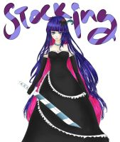 I DREW STOCKING AGAIN BUT THE PICTURE IS HUUUGEEE by otakujeanette
