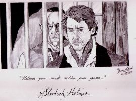 Holmes and Blackwood by Samvinci