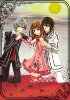 Vampire Knight trio by Risa1