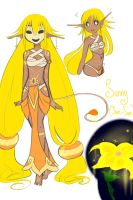 Sunny the Solari by CosmicEmbers