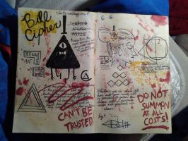 bill cipher by turntechheiress