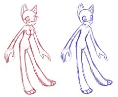 Sonic female and male reference bases by ApallonShinomia