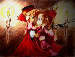 Captain Chipmunk and Countess by CTW36