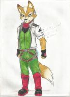Fox McCloud by Kathe-Fox