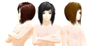 Emo hair - Download by YamiSweet