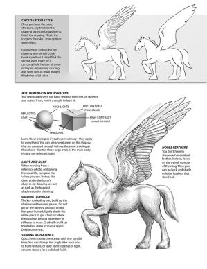 How to draw PEGASUS 4