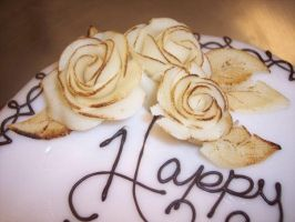 Marzipan Roses by eckabeck