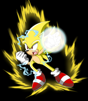 Super Sonic attacks by coycoy