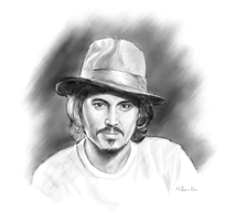 Johnny Depp by billps