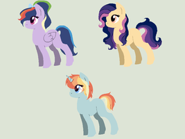 Pone Adoptsss by Rainbow-ninja-adopts
