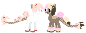 triple scoop pony bio customs open peace by togekissuadopts