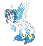 Chibi bell pony ember by Shadowfoxnjp