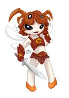 WARRIOR PIXIE -Gaia avatar- by ThermalFaerie